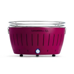 Lotus Grill XL Hybrid tafelbarbecue paars Ø 43,5 cm