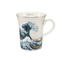 Hokusai Beker zilver Great Wave