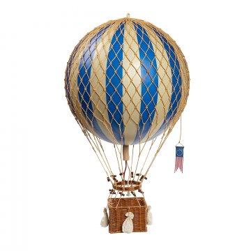 Luchtballon, blauw, Ø 32 cm