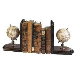 Globe boekenstandaard, 2 Bookends