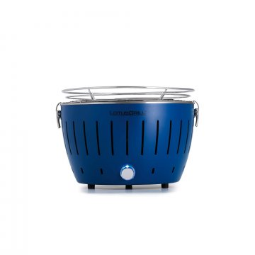 Lotus Grill Mini tafelbarbecue blauw Ø 29,2 cm