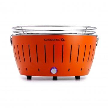 Lotus Grill XL Hybrid tafelbarbecue oranje Ø 43,5 cm