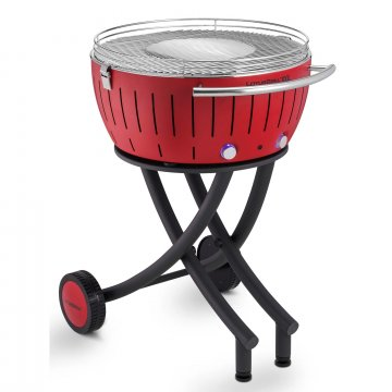 Lotus Grill XXL Gardengrill, barbecue rood Ø 60 cm