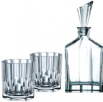 Nachtmann serie Aspen whiskyset, 3 delig