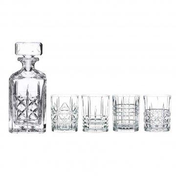 Nachtmann serie Highland whiskyset, 5 delig