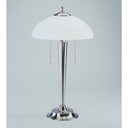 Tafellamp, keuze 2 kleuren kappen