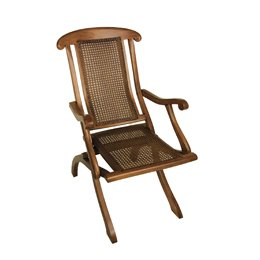 Dining Deck Chair, mahonie hout