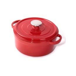 Cuisinova Gietijzeren Braadpan, rood, 24 cm
